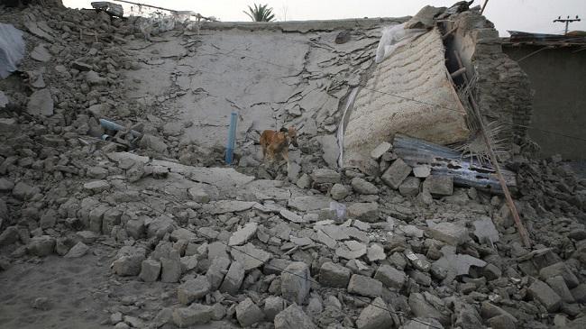 زلزال يضرب محافظة فارس جنوب غرب إيران